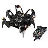 Freenove Hexapod Robot Kit with Remote (Compatible with Arduino IDE Raspberry Pi OS), App Remote...