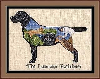 Pegasus Originals Labrador Collage Counted Cross Stitch Chart