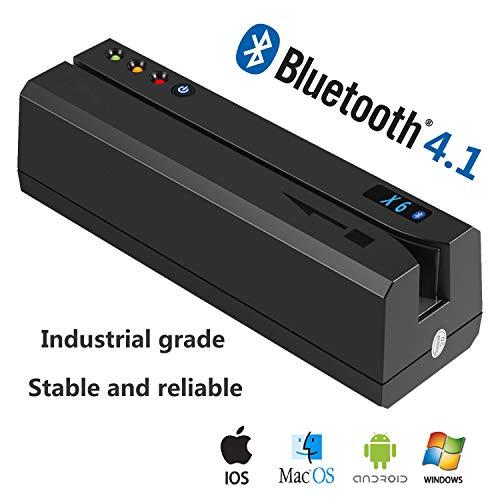 [Update Version] Bluetooth 4.1 X6 Pro 3 Tracks VIP Card Reader Writer Encoder