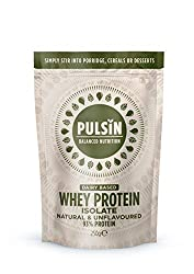 Versatile unflavoured premium protein powder 93% protein No nasties From UK grass fed cows Easily mixes into sweet and savoury recipes and smoothies