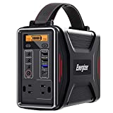 Energizer Portable Power Station, PD 45W USB-C Fast Charging Solar Generators, 240Wh/75000mAh(110V/200W) Pure Sine Wave Lithium Iron Phosphate Battery for Home Emergency, Outdoor Camping Power Supply