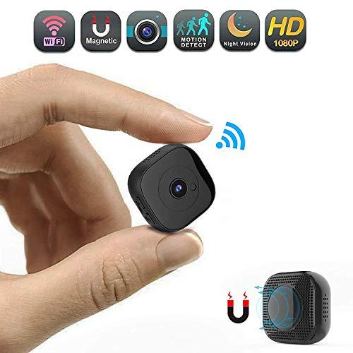 C-Xka Cámaras espías portátiles Cámara de vigilancia 1080 P HD Cámara de visión Nocturna Teléfono…