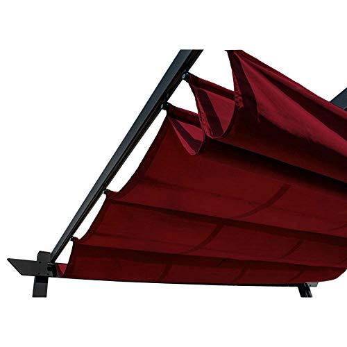 ALEKO Pergola Canopy Fabric Replacement - 13 x 10 Feet (Burgundy)