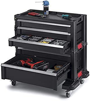 Keter 5-Drawer Rolling Tool Chest with Storage Drawers