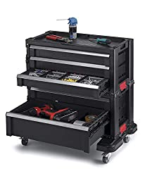 Keter Rolling Tool Chest with Storage Drawers