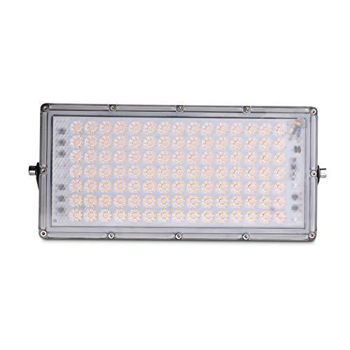 Los reflectores LED para exteriores, 2800-3200K blanco cálido de seguridad puntual luces, IP65 a prueba de agua 8000/16000 / 24000Lm trabajo de Iluminación en estanque de jardín Patio,100W