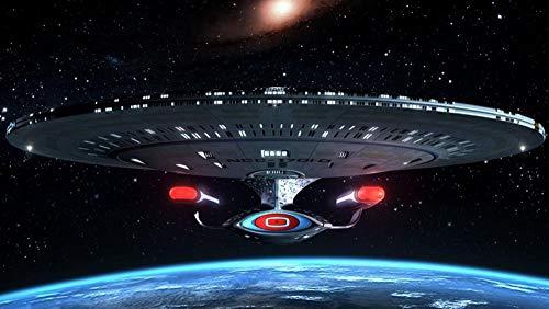65Tdfc - Rompecabezas Adultos 1000 Piezas Jigsaw Puzzle - Star Trek - Personajes Decor Pared Imagen Bricolaje Decor Hogar Madera Montaje Rompecabezas Divertido Juego Juguetes Regalo