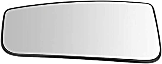 Left Driver Lower Convex Tow Mirror Glass w/Holder OE for 15-18 F150, 17-19 F250 F350 F450 Heated