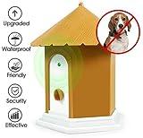 Upgrade Antibellgerät - Hund Ultraschall Anti Bellen Repeller,50 Fuß Wirksam - Wasserdichtes Outdoor Trainingsgerät In Vogelhausform - 100% Sicher Für Haustiere Und Menschen