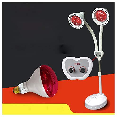 NoNo Infrarood lichttherapie, multifunctioneel instrument, fysiotherapie in schoonheidssalon, afstandsbediening, temperatuurregeling, dubbele kop, baklamp, verwarming, staande lamp ter verlichting van spierpijn
