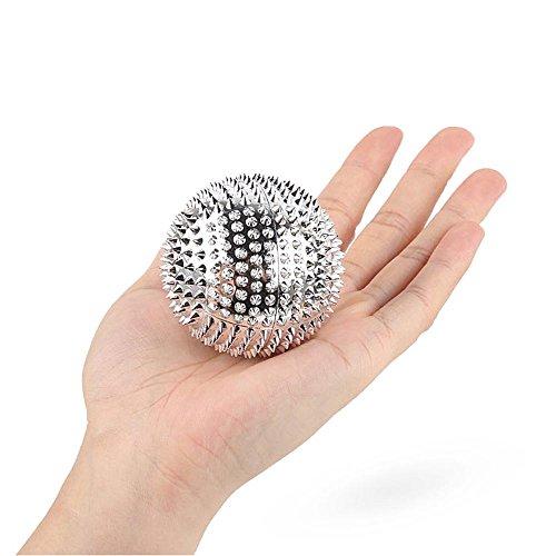 Akupunkturball von PBFONE - 1 Paar, magnetisch, für die Handfläche, zur Schmerzlinderung. Massagegerät für Akupunktur, Akupressur, Gesundheitspflege, Hosentaschengröße, Massageball