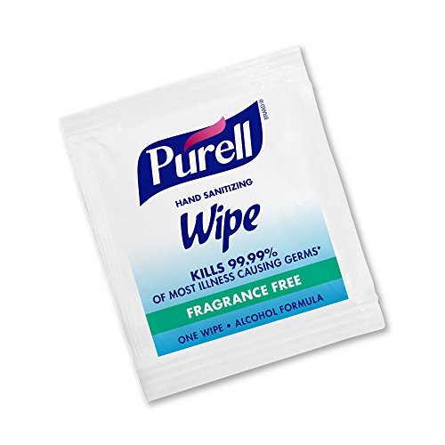 PURELL Hand Sanitizing Wipes, Alcohol Formula, Fragrance Free, 300 Count...