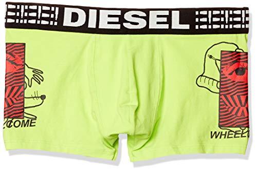 Diesel Herren UMBX-Damien Boxer-Shorts Badehose, Neon/Gelb, X-Small