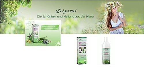Zigavus Nutritive Haarspülung Haarkur mit 12 Kräuter 250ml - Geeignet für alle Haartypen - Dermatologisch getestet!