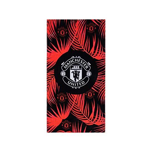 FOCO Fußballclub Strandtuch mit Blättern (Manchester United FC)
