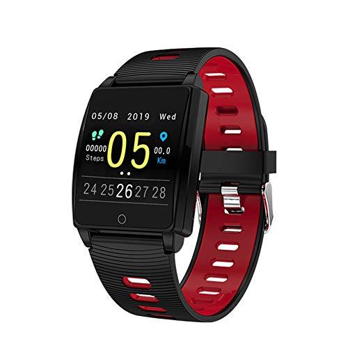 YHDQ Smart-Armband mit Bewegungs-Tracker, 3,3 cm, für Blackberries, iOS, Herzfrequenz, Blutsauerstoff, Blutdruck, IP67, wasserdicht