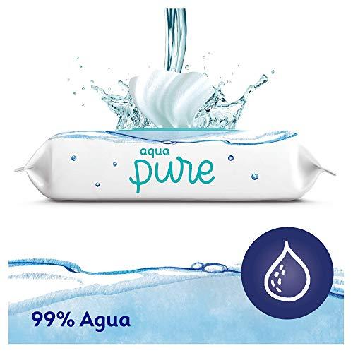Dodot Toallitas Aqua Pure para Bebé, 99% Agua, 864 Toallitas, 18 Paquetes (18 x 48)
