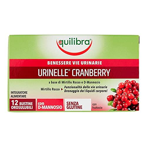 Equilibra Urinelle Cranberry, 12 bustine