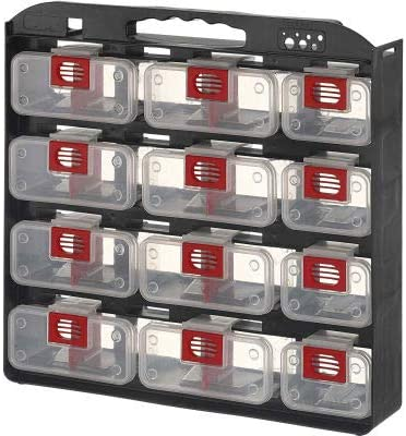 ShopSol 1010499 Bin Compartment Case Large-scale sale - Soldering 12 Sided Bins Locking 1
