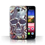 Stuff4 Hülle/Case für Huawei Ascend Y550 LTE/Calacas