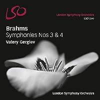 Brahms: Symphonies Nos.3 & 4 by London Symphony Orchestra (2014-09-09)