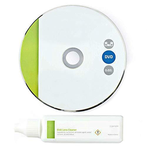 TronicXL Profi Linsenreiniger für DVD Blu-ray-Player Blue Ray Reinigungsdisc Reinigungs DVD CD Laufwerk Blu Ray CD-ROM