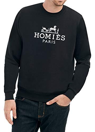 Certified Freak Homies Paris Sweater Black L