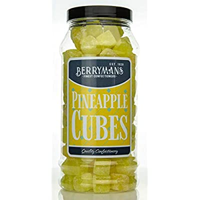 original pineapple cubes retro boiled sweets gift jar by berrymans sweet shop - classic sweets, traditional taste. Original Pineapple Cubes Retro Boiled Sweets Gift Jar by Berrymans Sweet Shop – Classic Sweets, Traditional Taste. 41yN35kN3fL