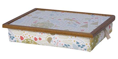 Andrew´s Knietablett Laptray mit Kissen Tablett für Laptop Woodland