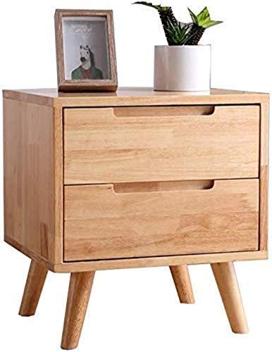 Bestand Kasten massief hout nachtkastje lade hoge capaciteit plaats kleding kamer slaapkamer winkel boeken massief hout - 45x40x50cm Home Office Meubels opbergdoos A