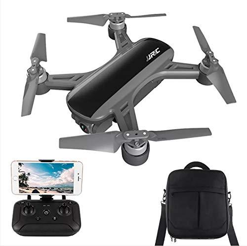 Meiyiu JJRC X9 Heron GPS 5G WiFi FPV con cámara 1080P Posicionamiento de Flujo óptico RC Drone Quadcopter RTF VS Dream Negro + Mochila