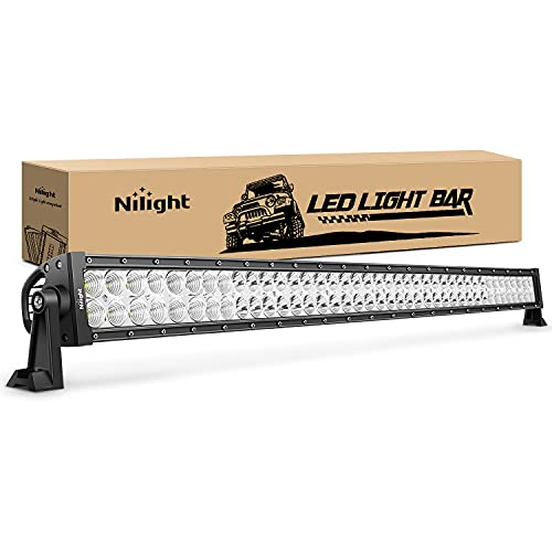 LED Light Bar Nilight 42Inch 240W Spot Flood Combo LED Driving Lamp Off Road...