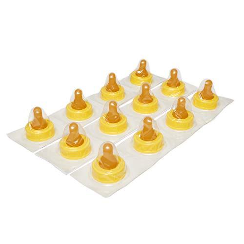 Enfamil Cross Cut Soft Nipples - Latex-Free & BPA Free, Pack of 12