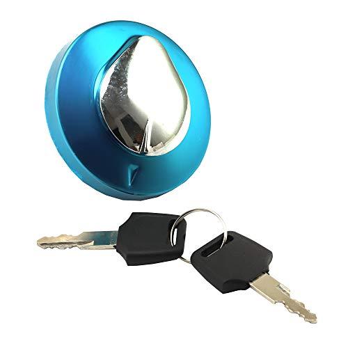 Fuel Gas Tank Cap Keys Set for Yamaha Vstar 650 1100 Honda Rebel CMX 250 Shadow Aero VT750 VLX VT 600 Magna
