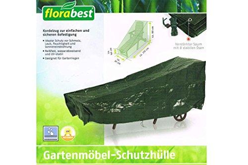 Florabest® Gartenmöbel Schutzhülle, Reißfest, wasserabweisend und UV-beständig - für Gartenliege