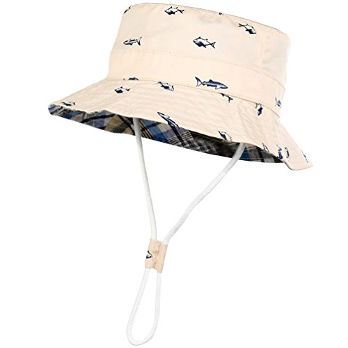 VBIGER Kids Cotton Bucket Hat Re...