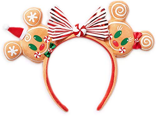 Disney Parks Minnie Ears Headband - Christmas 2020 Gingerbread Man