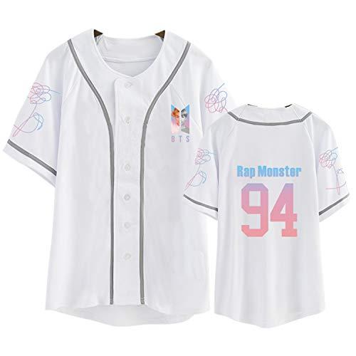 DHSPKN Love Yourself Jersey Jungkook Jimin Suga V RM J-Hope Baseball Shirts Kpop Merchandise