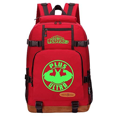 NLJ-lug Multifunction School Bags Students Boys Girls Backpack Laptop Backpack for Teens Travel Bags My Hero Academia