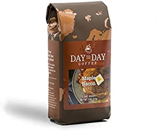 Day To Day Ground Coffee, Maple Bacon, 11 Ounce Coffee Bag