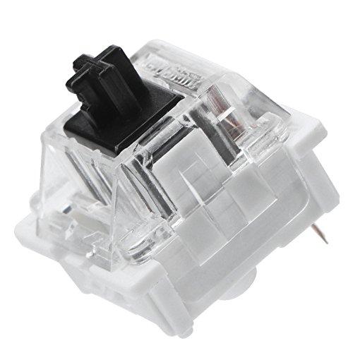 Interruptores De Teclado, Interruptores para Teclado Mecánico Amplia Compatibilidad Transparente Pragmático para Oficina