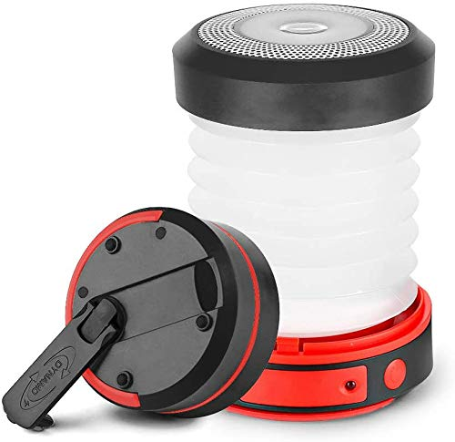 ZALA Camping Light Hand Crank Powered Camping Lantern LED USB Rechargeable Tent Light Hand Crank Emergency Light Indoor Outdoor Flashlight for Home Camping Hiking Jogging