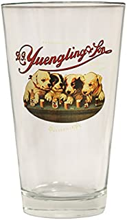 Yuengling Brewery Dogs logo Since 1907 Beer Pint Glass