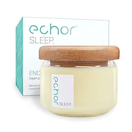 Echor End of Day Essential OilsAromatherapy Scented Vegan Soy Wax Candle up to Sixty Hours Burn Time, Lavender, YlangYlang, Geranium and Sweet Orange