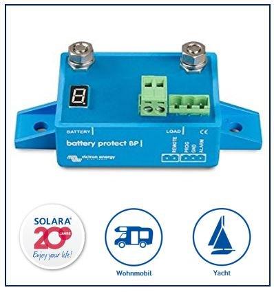 Victron Battery Protect 12/24V 65A programmierbar für Wohnmobil und Yacht