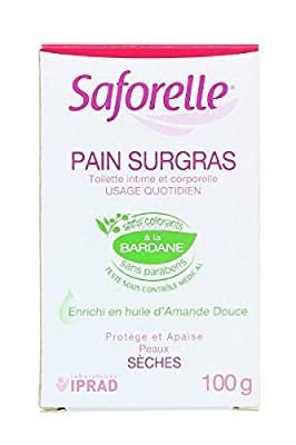 Saforelle Lipid-Enriched Bar Cleanser 100g
