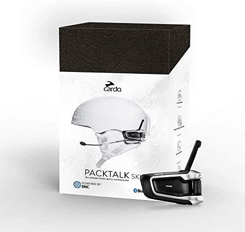 Cardo PTSKI Packtalk Ski | El Mejor comunicador de Deportes de Invierno | Conecta con hasta 15 Personas | Resistente a la Intemperie