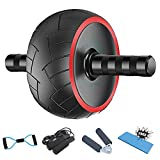 Ab Roller for Abs Workout - 5-in-1 AB Wheel Roller Kit AB Roller