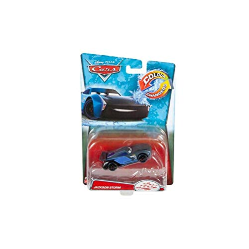 Disney Mattel Pixar Cars GDK07 - Die-Cast Farbwechsel Fahrzeug Jackson Storm
