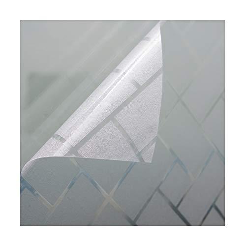 Beyond Drape Fensterfolie Sichtschutzfolie Milchglasfolie Motiv Tissue statisch Verschiedene Größen 120x200 cm